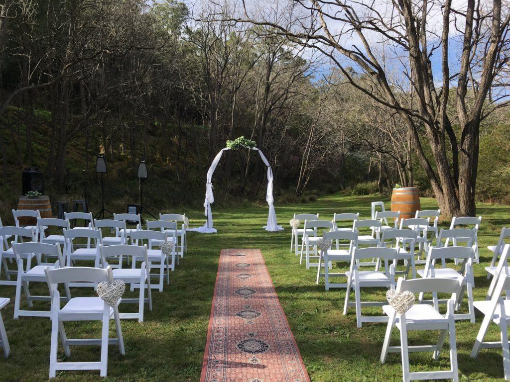 Merrindah Weddings & Events - wedding venue Wollombi, Hunter Valley
