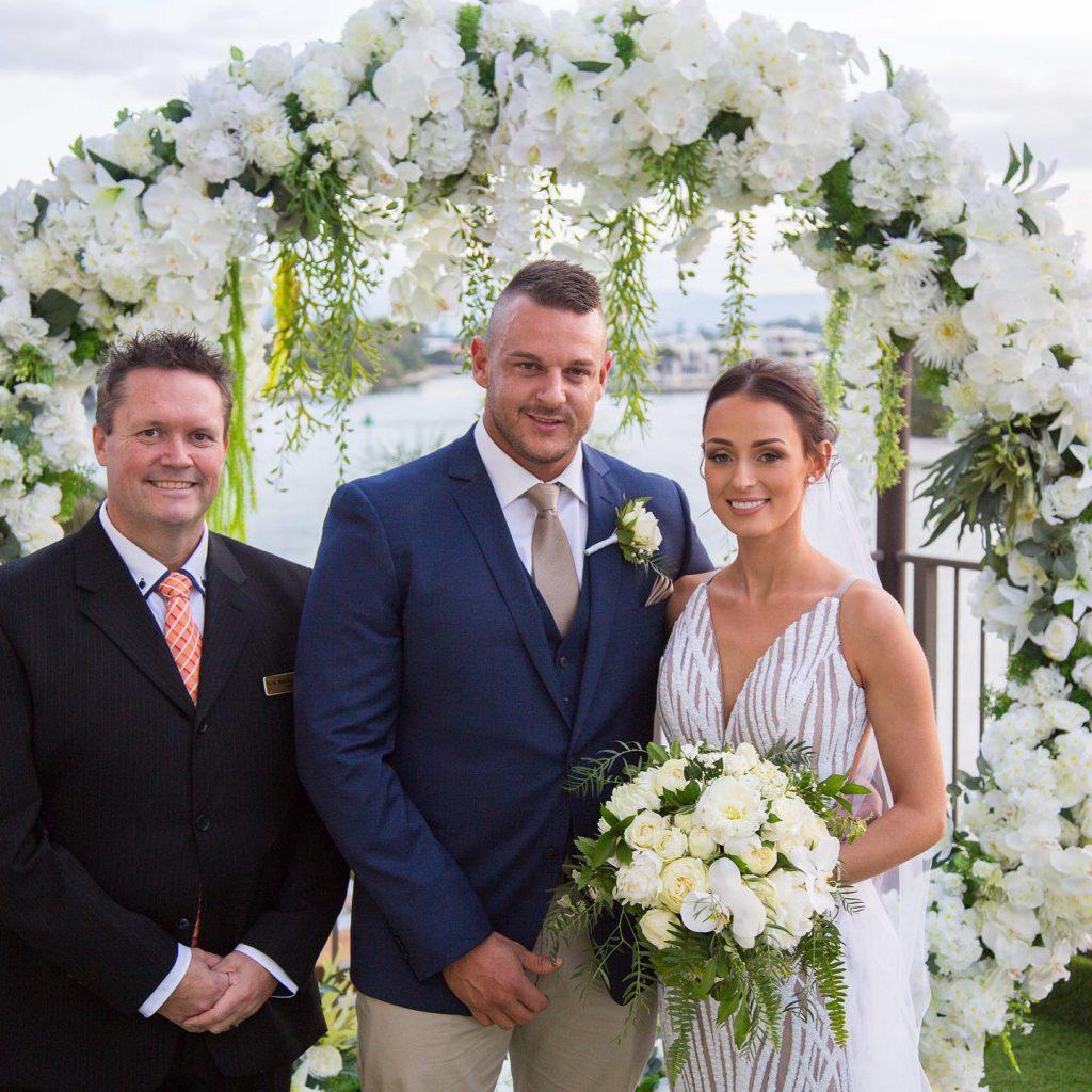 Brisbane Marriage Celebrant - Mark Reynolds - Parties2Weddings