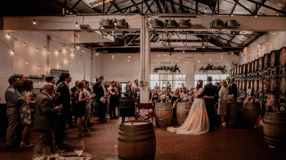 Rustic wedding venues in Melbourne - Noisy Ritual