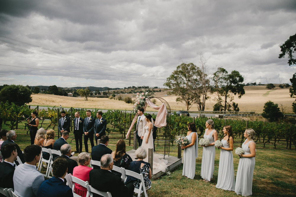Intimate Winery Wedding Venues Melbourne - The Little Vineyards