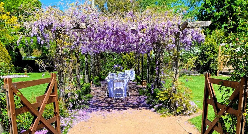 The Secret Garden wedding venue Wildes Meadow Wollongong
