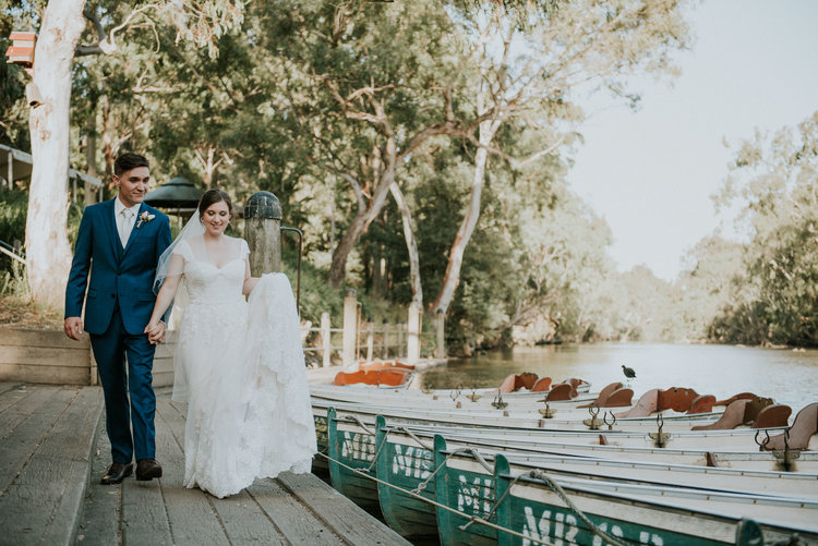 Rustic Wedding Venues in Melbourne - Fairfield Boathouse