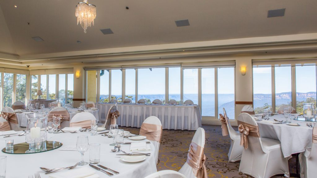 Best Blue Mountains Wedding Venues with Accommodation - Fairmont Resot & Spa Blue Mountains