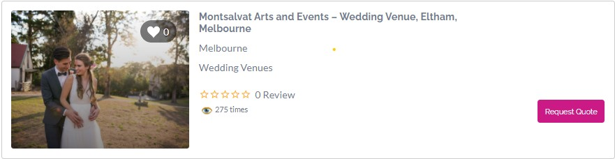 Rustic Wedding Venues in Melbourne -Montsalvat