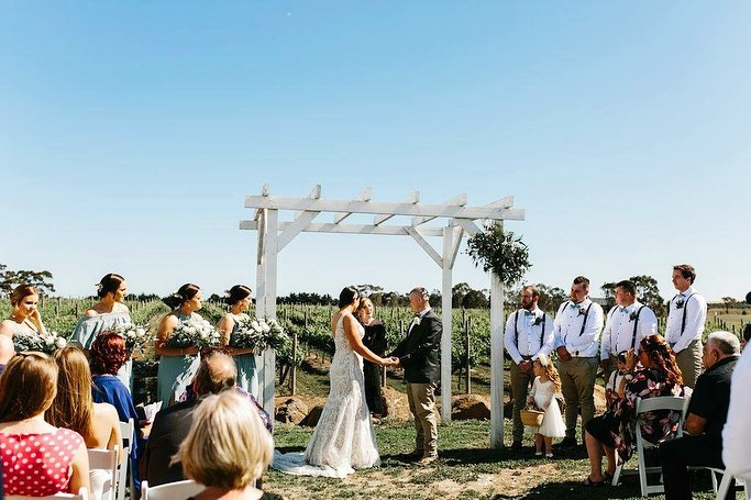 Intimate Winery Wedding Venues Melbourne - Russo Estate