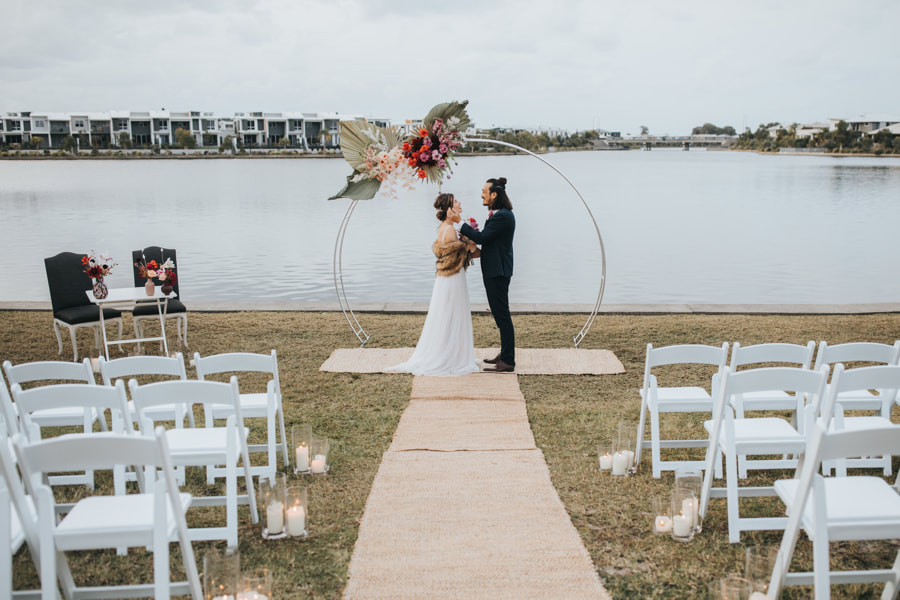 The Lakehouse Sunshine Coast -Waterfront Wedding - Parties2Weddings