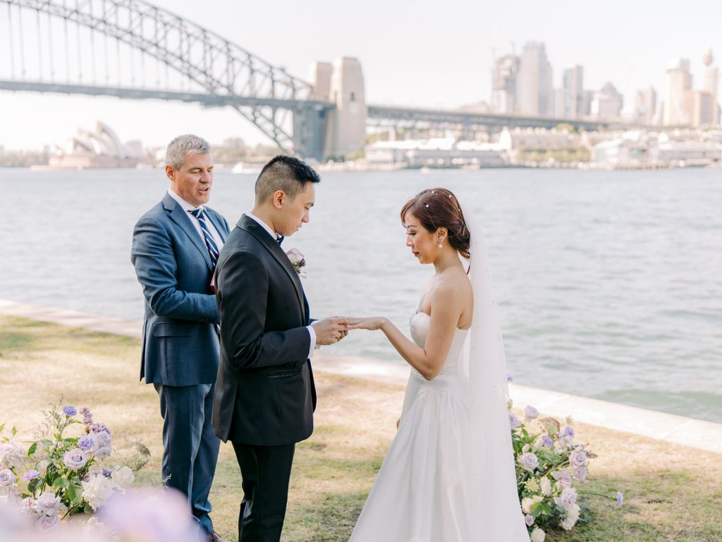 Vina and Ralph Waterfront Wedding in Sydney