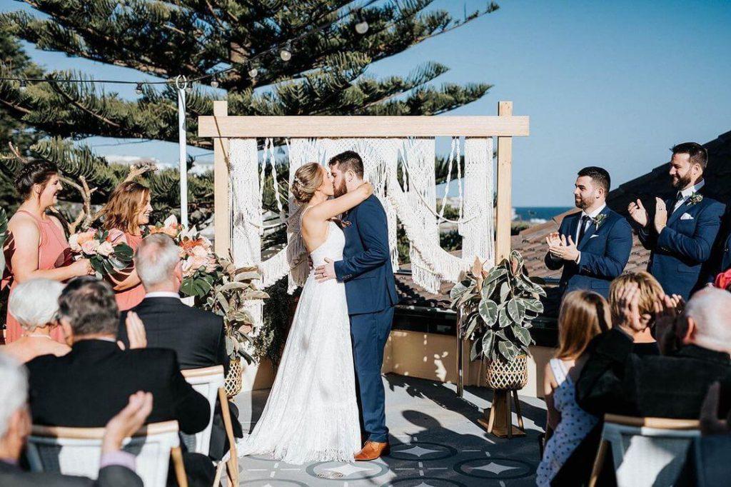 Best Small Wedding Venues in Sydney - The Blue Room Bondi- Parties2Weddings
