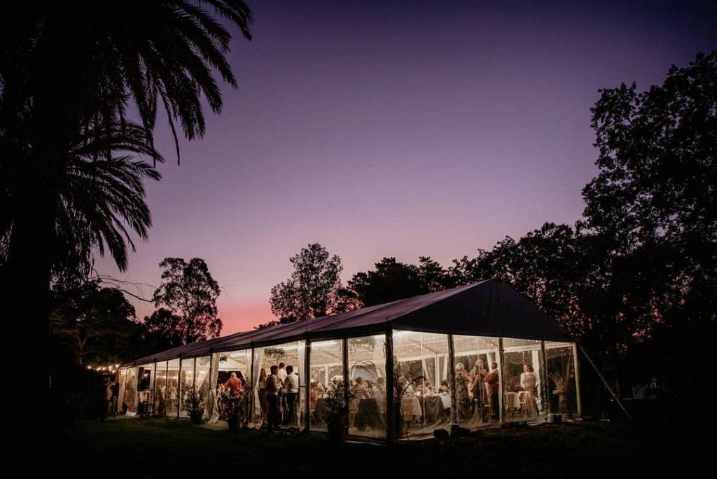 Best marquee wedding venues Melbourne - Olinda Yarra - Parties2Weddings