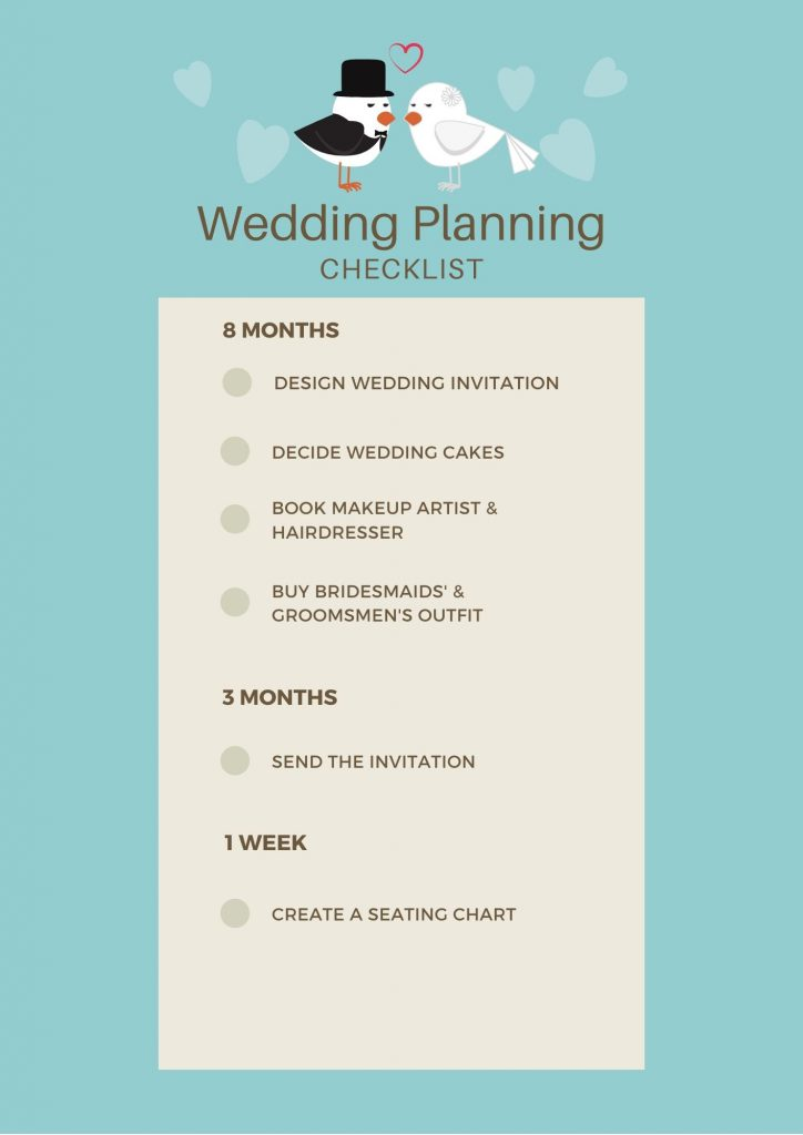 Wedding Planning Checklist - Parties2Weddings