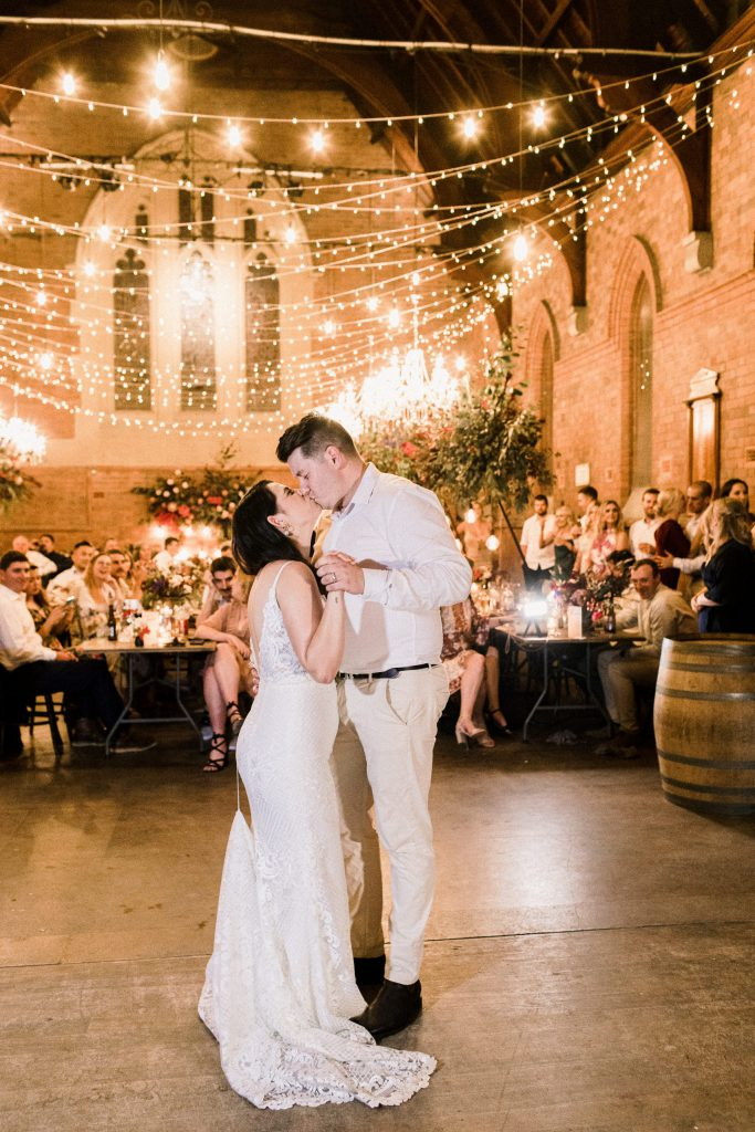 A couple dancing in the middle of hall- Parties2Weddings