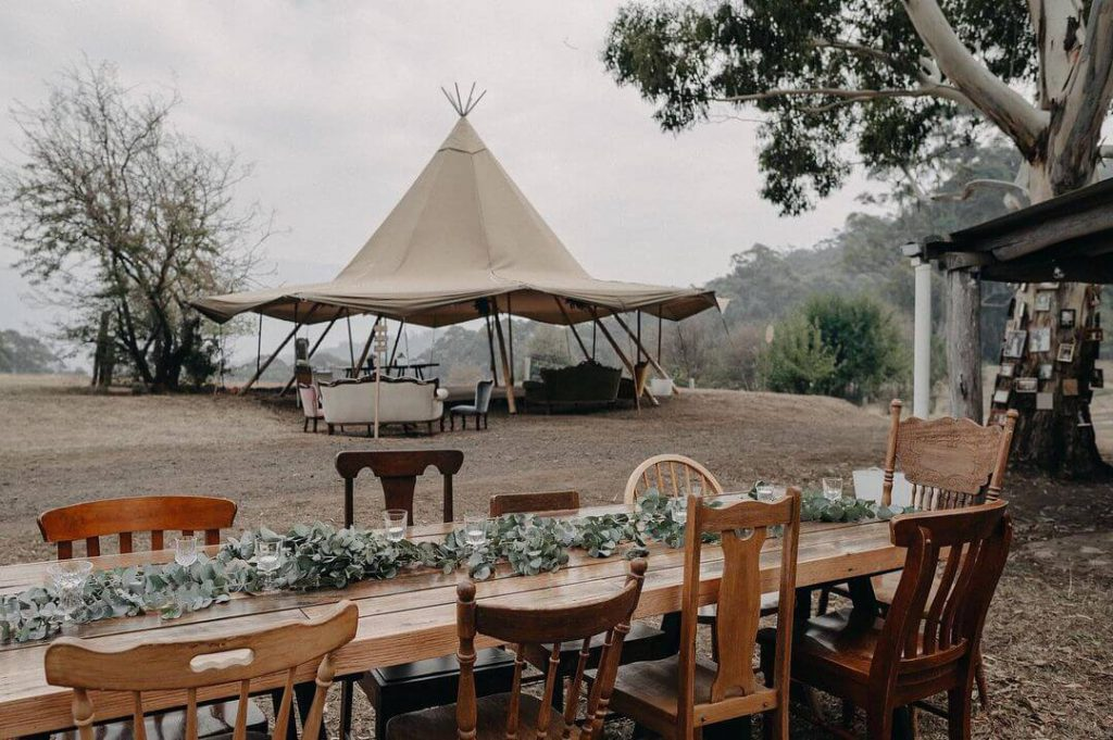Glamping Wedding in Melbourne, Victoria - Under The Moon - Parties2Weddings